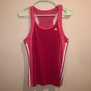 Adidas Climalite Pink Summer Tank Top